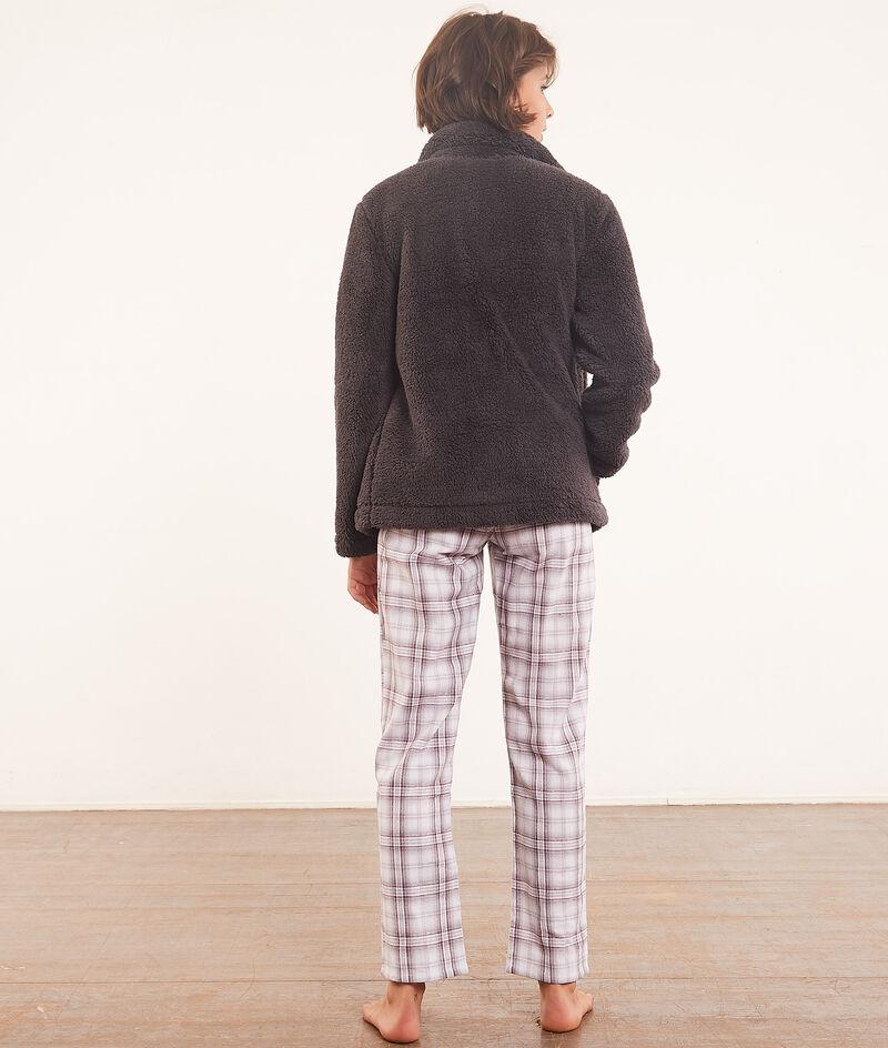 Piżama 3-częściowa z bluzą pilou pilou;${refinementColor}