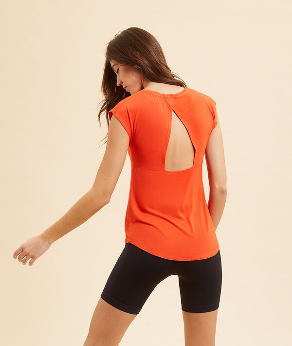 T-shirt z krótkimi rękawami i napisem 'run in progress';${refinementColor}