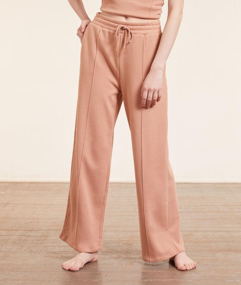 Szerokie spodnie od piżamy;${refinementColor}