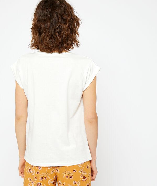 T-shirt z bawełny z nadrukiem;${refinementColor}
