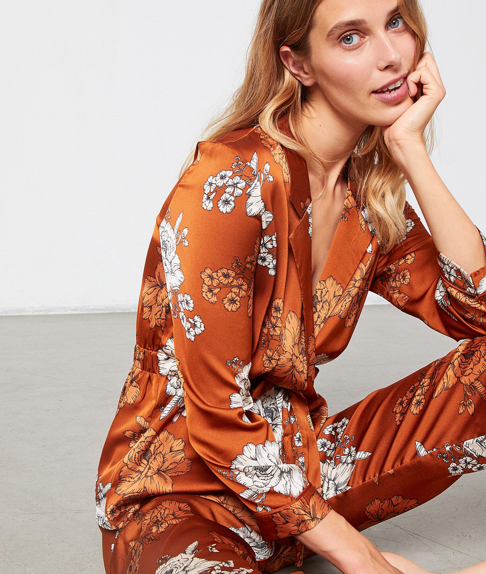 ZOEY Koszula od piżamy w kwiaty