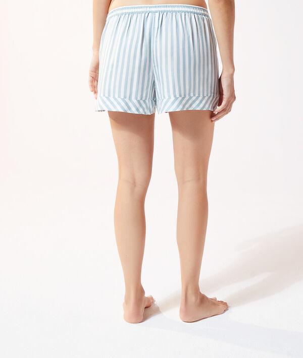 Szorty od piżamy w paski;${refinementColor}