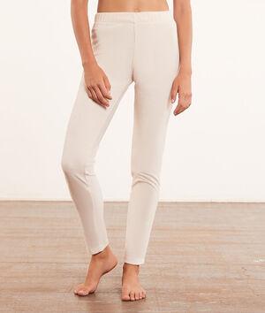 Prążkowane spodnie od piżamy;${refinementColor}