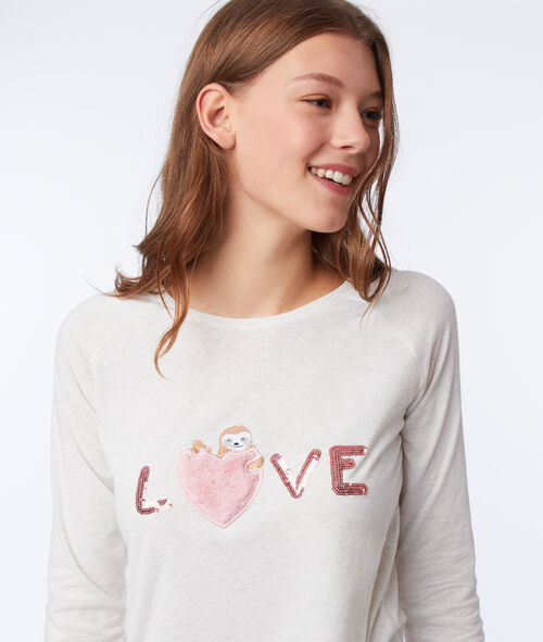"""Piżama trzyczęściowa """"love"""""""