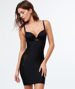 Modelująca sukienka-halka  czarny.