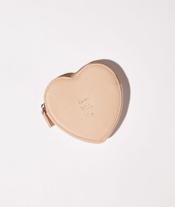 """Mini kosmetyczka serce z napisem """"Love you first"""";${refinementColor}"""