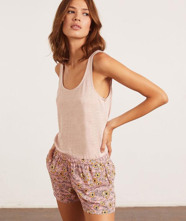 Podkoszulek piżamowy w jednolitym kolorze;${refinementColor}
