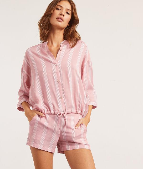 Koszula od piżamy z rękawami 3/4;${refinementColor}