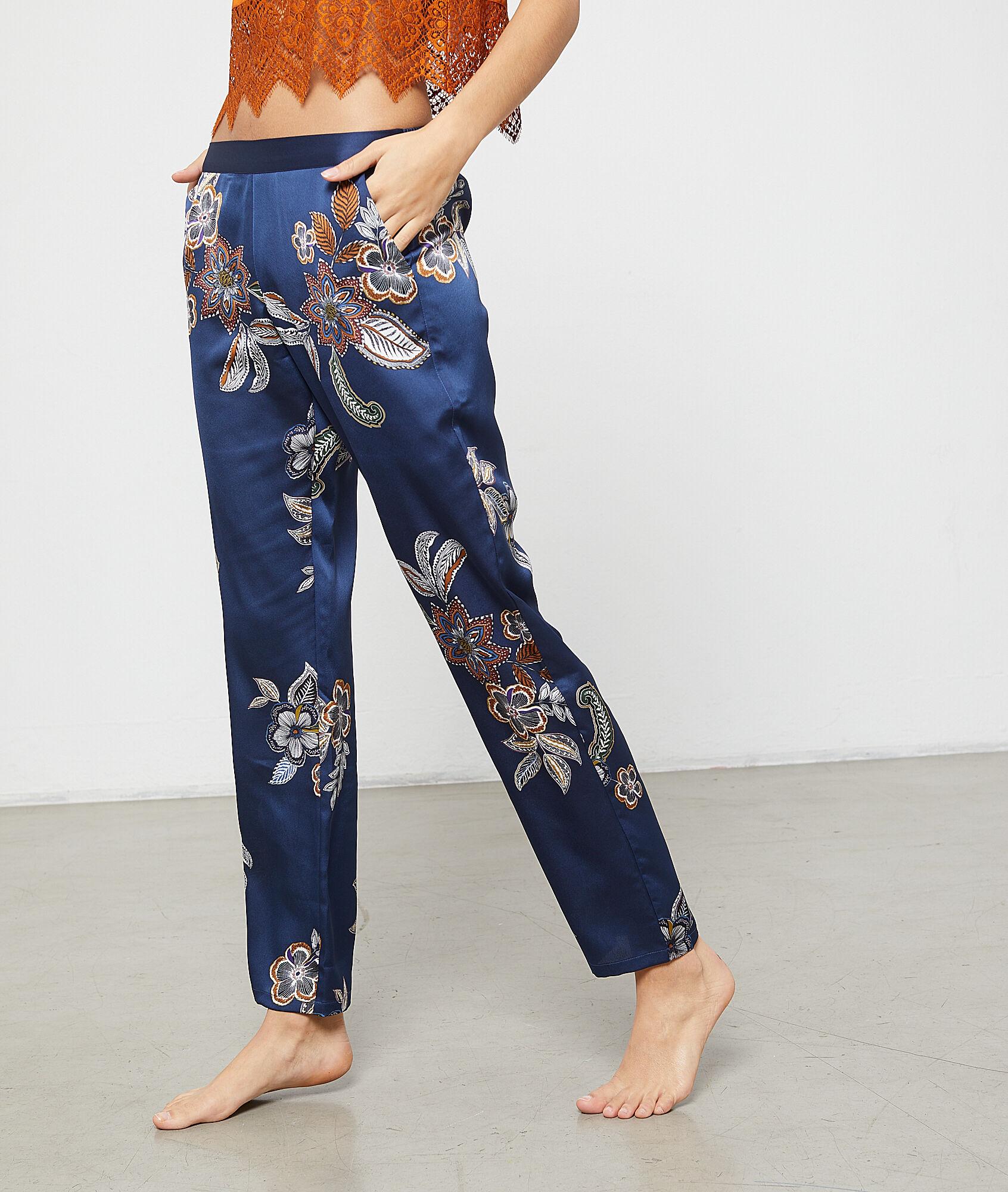 ALABAMA Spodnie z kwiatowym nadrukiem