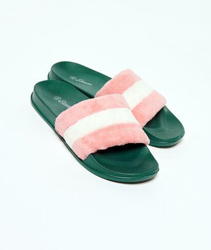 Puchate sandały;${refinementColor}