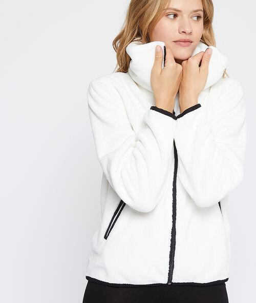 Bluza ze sztucznego futerka