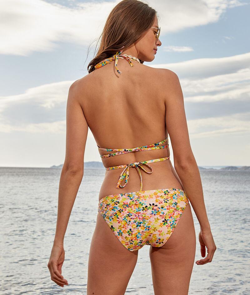 Biustonosz trójkątny na multi-ramiączkach bez fiszbin, góra od kostiumu kąpielowego;${refinementColor}