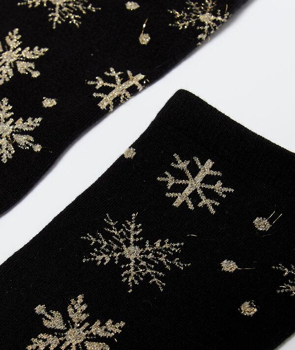 Skarpetki w płatki śniegu