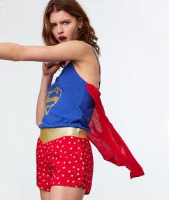 Kombinezon super woman bleu.