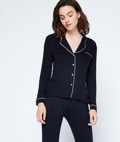 Koszula od piżamy noir.