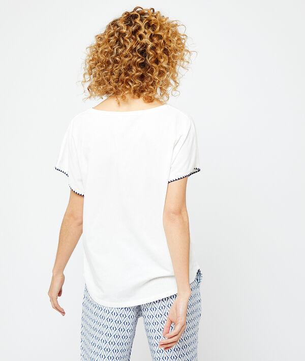 T-shirt z napisem 'summer';${refinementColor}