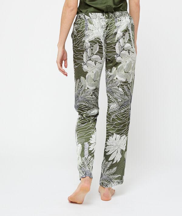 Satynowe spodnie z nadrukiem;${refinementColor}