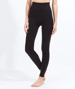 Bawełniane legginsy czarny.