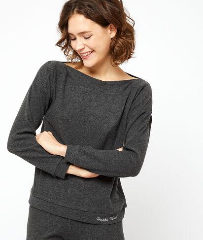 Top loungewear z napisem 'happy mind';${refinementColor}