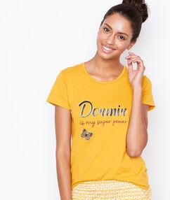 Bluzka z napisem jaune.