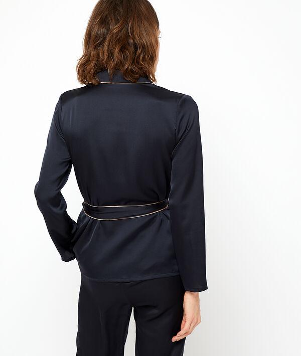 Satynowa koszula od piżamy;${refinementColor}