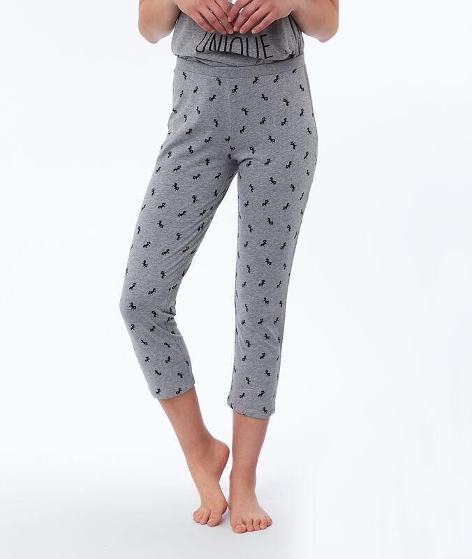 Spodnie 3/4 w jednorożce gris.
