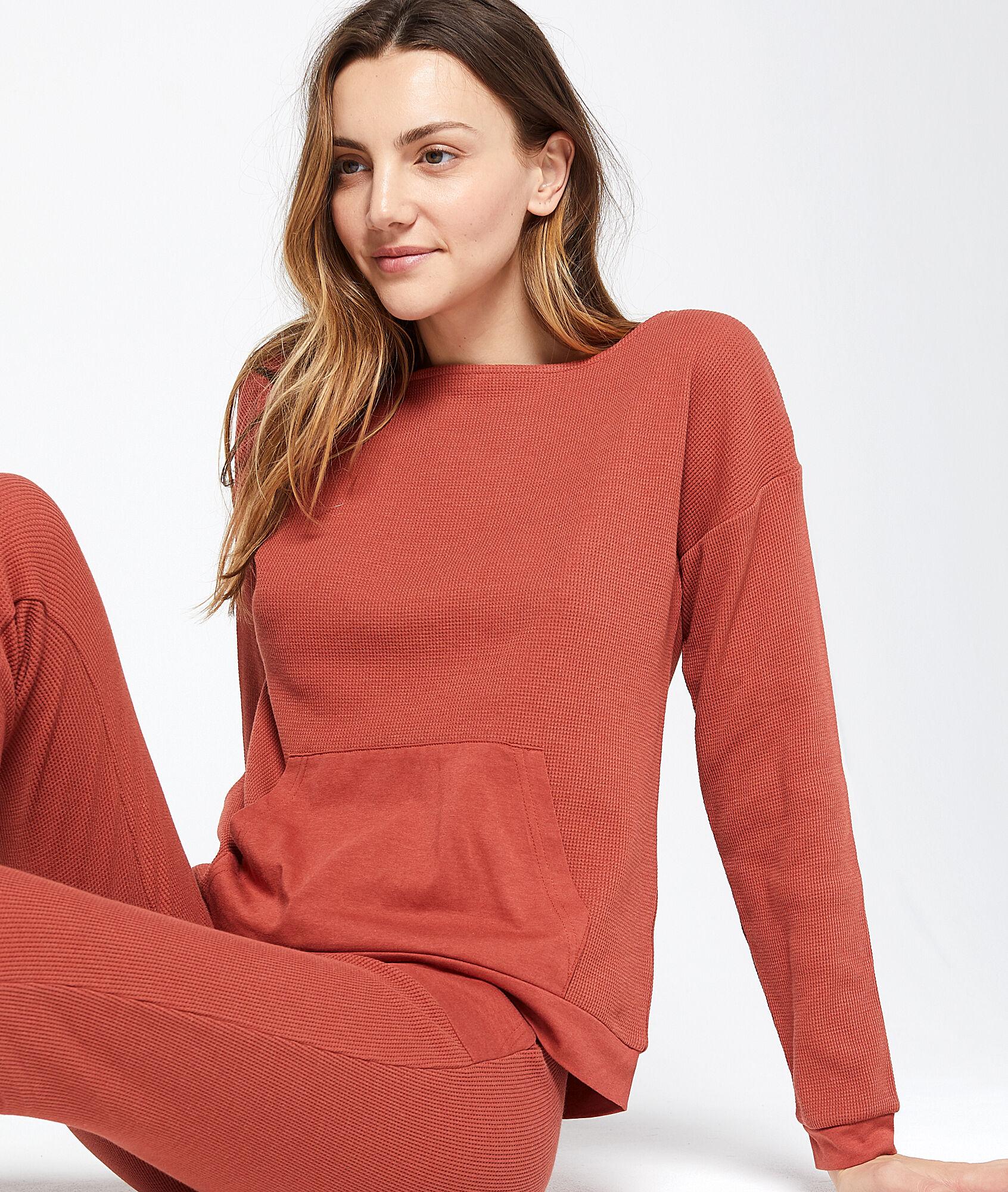 JAVOTTE Bluza z kieszenią typu kangur