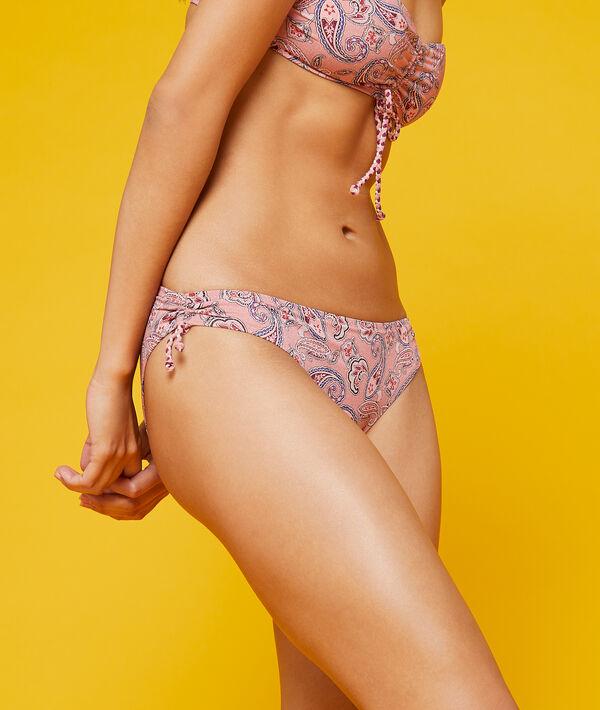 Klasyczny dół bikini z nadrukiem