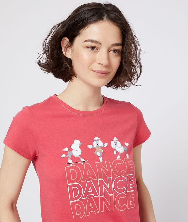 """T-shirt z napisem """"dance"""";${refinementColor}"""