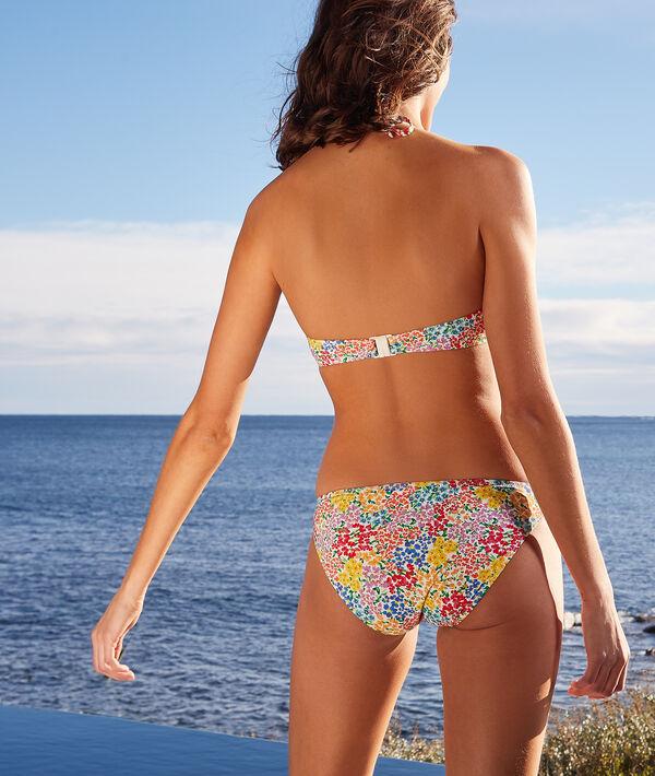 Wiązany biustonosz push-up od kostiumu kąpielowego;${refinementColor}
