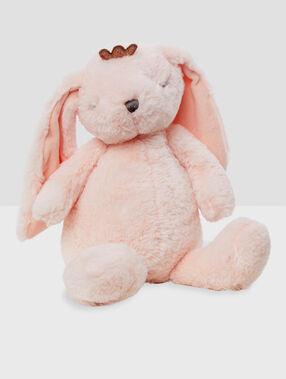 Schowek na piżamę - królik rose.