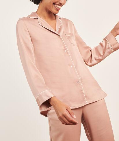 Koszula od piżamy o męskim kroju;${refinementColor}
