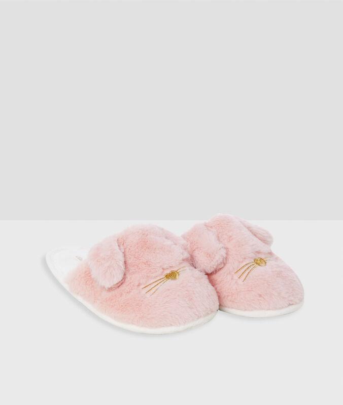 Kapcie króliki rose.