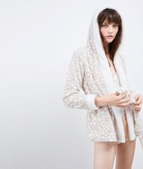 Bluza homewear z kapturem