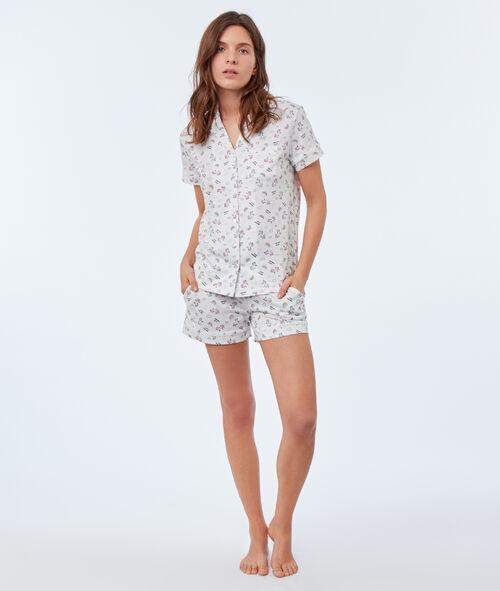 Koszula od piżamy z motywem jednorożca