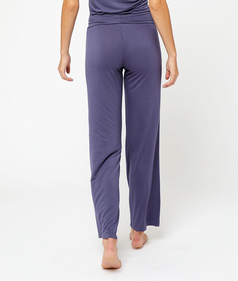 Spodnie z wiskozy;${refinementColor}