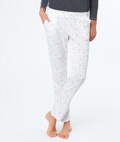 Spodnie w pingwinki blanc.