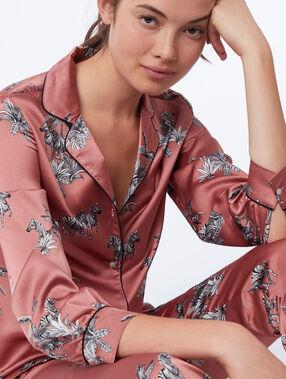 Koszula od piżamy w zebry rose.