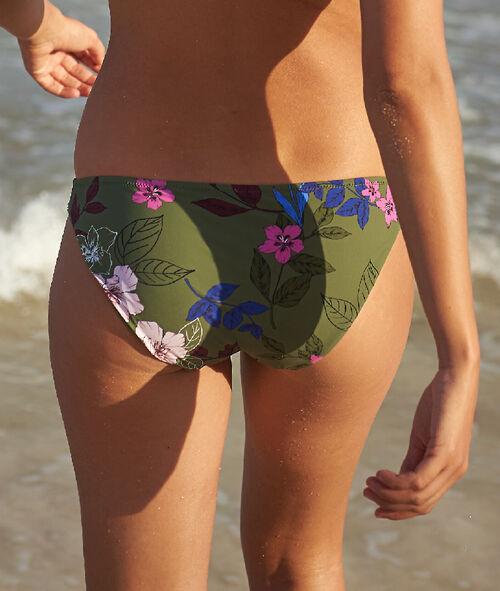 Klasyczny dół bikini, falbanki