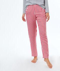 Spodnie w paski rouge.