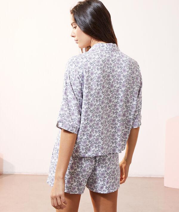 Wzorzysta koszula od piżamy;${refinementColor}