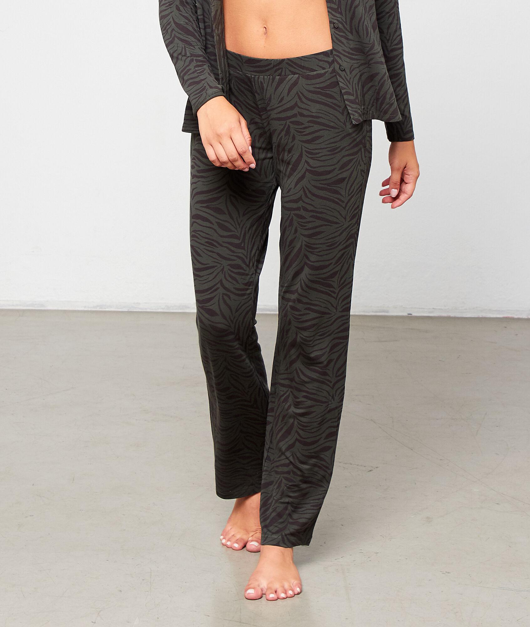 LYANA Wzorzyste spodnie