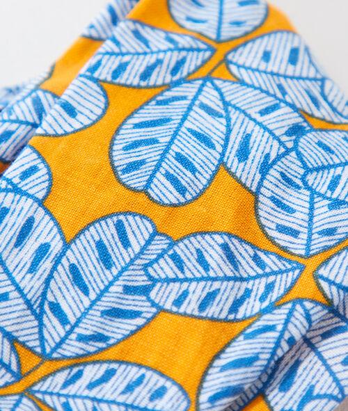 Opaska turban w kwiecisty deseń