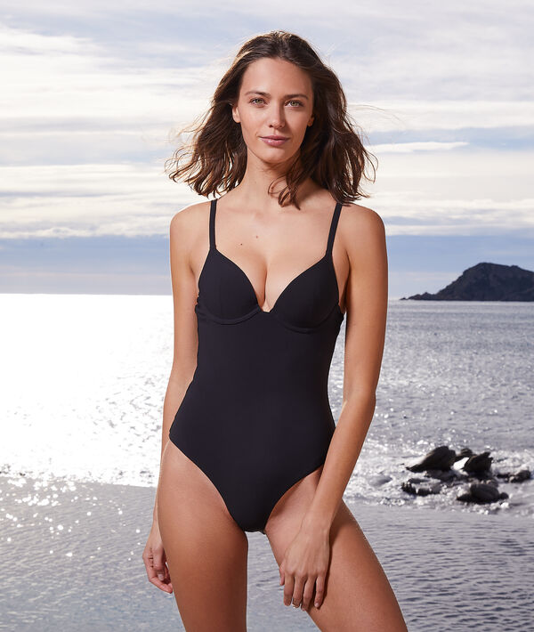 Jednoczęściowy kostium kąpielowy push-up z fiszbinami;${refinementColor}