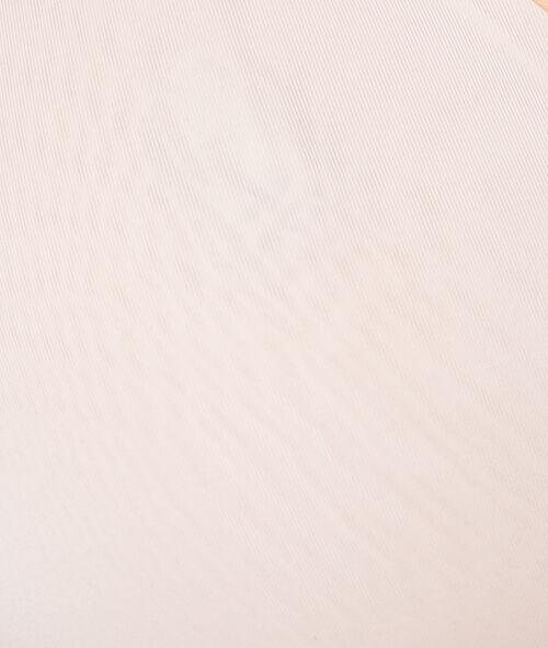 Miękki biustonosz z mikrofibry w jednolitym kolorze