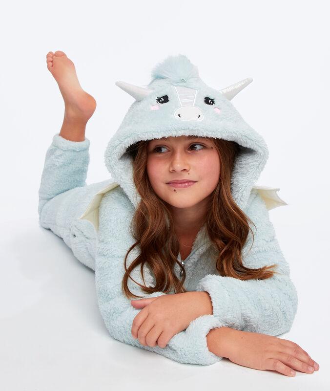 Kombinezon piżamka dla dzieci- smok bleu lagon.