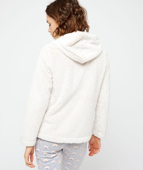 Bluza ze sztucznego futerka;${refinementColor}