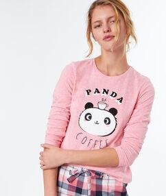 T-shirt z napisem rose.