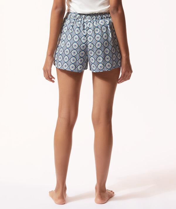 Wzorzyste spodenki od piżamy;${refinementColor}