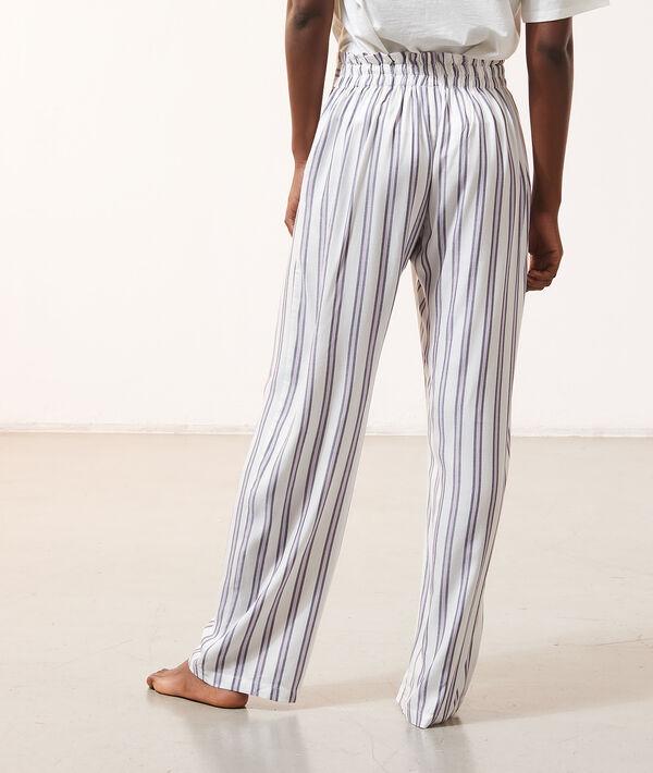 Spodnie od piżamy w paski;${refinementColor}